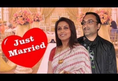 Rani Mukherjee Marries Aditya Chopra